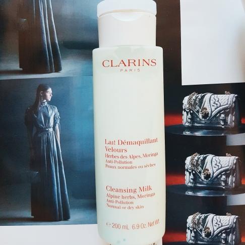 Clarins Cleansing Milk